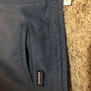 Patagonia blue 34x32 men's pant chino